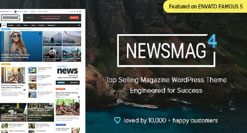Photo of Newsmag v4.9.1 – News Magazine Newspaper