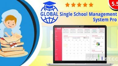 Photo of Global v5.5 – Single School c – nulled PHP Script