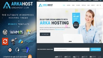 Photo of Domain & Hosting Company Best WordPress Theme