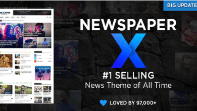 Photo of Newspaper Wordpress Theme