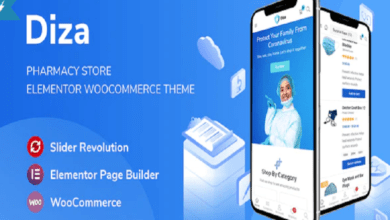 Photo of Pharmacy Store Wordpree Free Theme