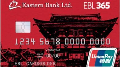 Photo of EBL UnionPay Classic Dual Currency Debit Card