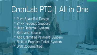 Photo of Cronlab PTC Script Free Download