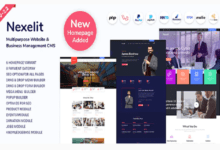 Photo of Nexelit v2.2 – Multipurpose Website & Business Management System CMS